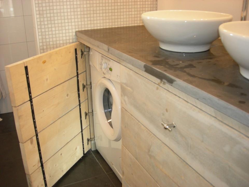 Badkamer Meubel Op Maat : Badkamer Modern - Hougardy - Badkamers en ...